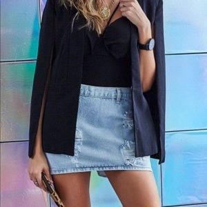 One Teaspoon Mini Free Love Skirt